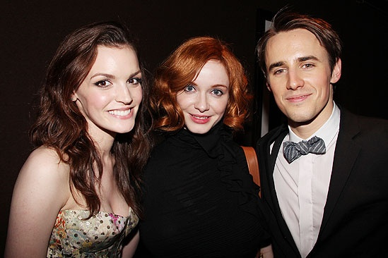 Tony Ball '11 - Jennifer Damiano - Reeve Carney