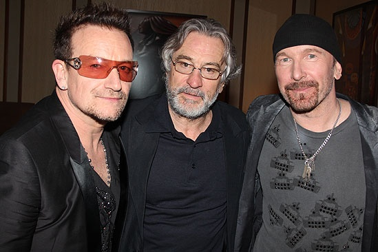 Spider-Man opening  Bono  Robert De Niro  The Edge