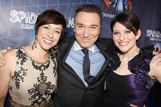 Spider-Man opening – Paige Davis - Patrick Page – Laura Beth Wells