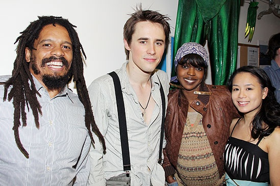 Rohan Marley - Reeve Carney - Lauryn Hill - T.V. Carpio 