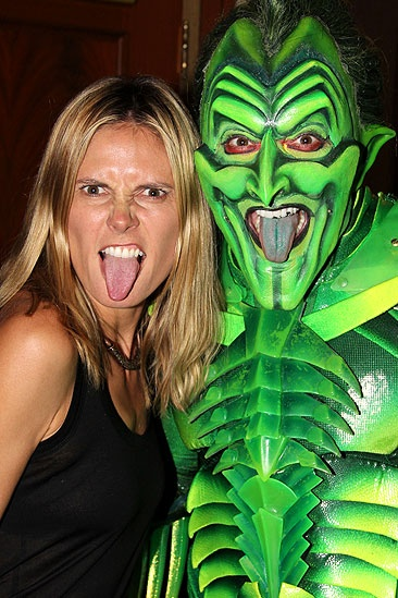 Heidi Spider-Man - Heidi Klum - Patrick Page