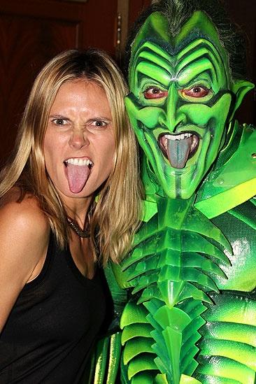 Heidi Spider-Man - Heidi Klum - Patrick Page