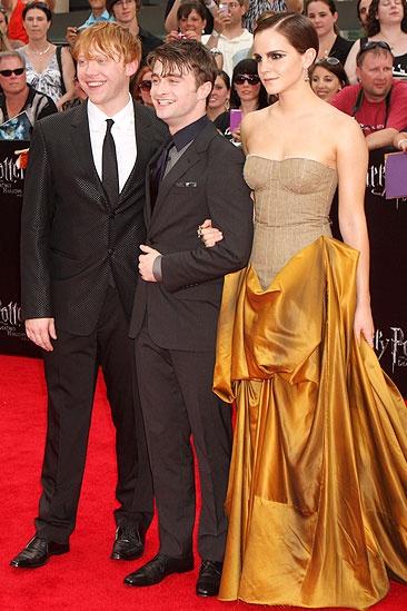 Harry Potter NYC Premiere – Daniel Radcliffe- Emma Watson – Rupert Grint