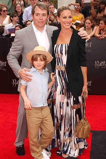 Harry Potter NYC Premiere – Matthew Broderick – Sarah Jessica Parker – James Wilkie Broderick