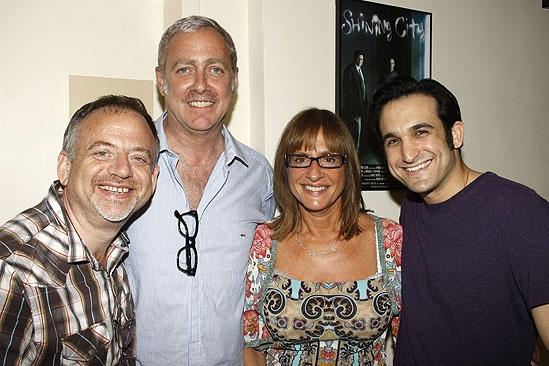 Patti LuPone at Master Class – Marc Shaiman – Scott Wittman – Patti LuPone – Jeremy Cohen