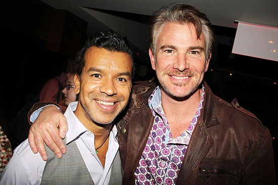 Opening night of <i>Rent</i> - Sergio  Trujillo – Douglas Sills