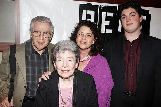 Opening night of &lt;i&gt;Rent&lt;/i&gt; - Al Larson  Nan Larson  Julie Larson -  