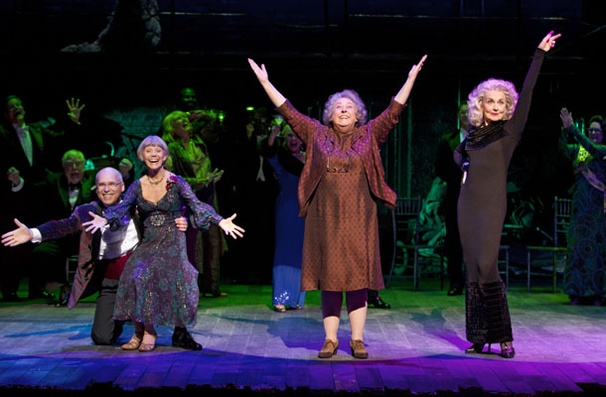 Show Photos - Follies - Don Correia - Susan Watson - Jayne Houdyshell - Mary Beth Peil