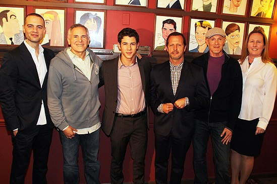 Nick Jonas How to Succeed Announcement – Nick Jonas – Jordan Roth – Craig Zadan – Rob Ashford – Neil Meron – Beth Williams