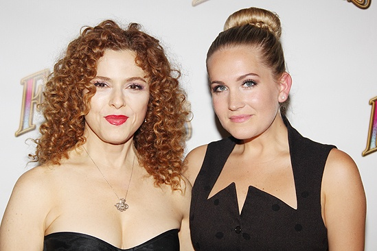<i>Follies</i> opening night – Bernadette Peters – Lora Lee Gayer