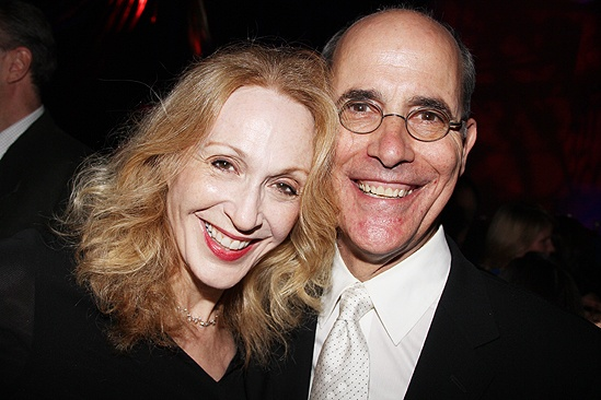 <i>Follies</i> opening night – Jan Maxwell – husband