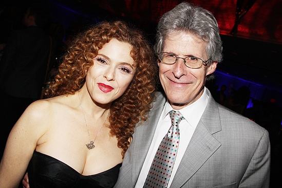 &lt;i&gt;Follies&lt;/i&gt; opening night  Bernadette Peters  Ted Chapin 