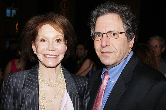 &lt;i&gt;Follies&lt;/i&gt; opening night  Mary Tyler Moore  Robert Levine 