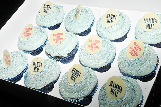 Mamma Mia Cupcake Event – box of cupcakes