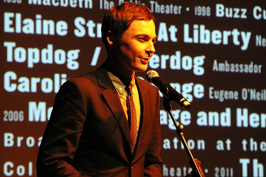 George C. Wolfe Gets Mr. Abbott Award  Jim Parsons