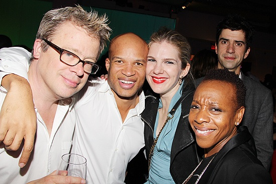 Mountaintop opens - Eric Gilliland - Glenn Davis - Lily Rabe- Marianne Jean-Baptiste - Hamish Linklater