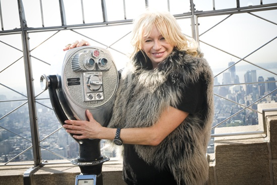 Mamma Mia Empire State Building  Judy Craymer (observation deck)
