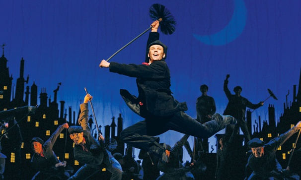 Show Photos - national tour Mary Poppins - Nicolas Dromard