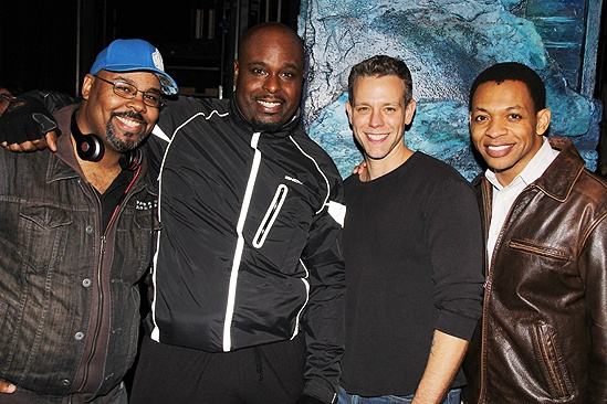 Adam Pascal First Memphis Performance – James Monroe Iglehart – J. Bernard Calloway – Derrick Baskin – Adam Pascal