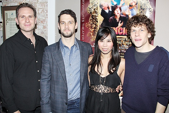 Asuncion opening - Remy Auberjonois - Justin Bartha - Camille Mana - Jesse Eisenberg