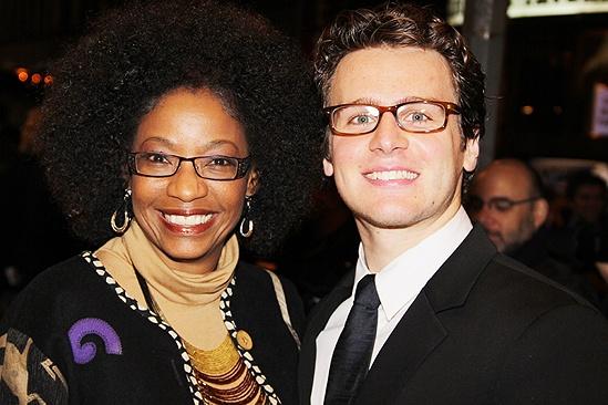 Venus in Fur Broadway Opening Night – Adriane Lenox – Jonathan Groff