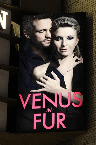 Venus in Fur Broadway Opening Night  marquee