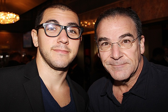 Photo of Mandy Patinkin & his  Son  Gideon Grody-Patinkin
