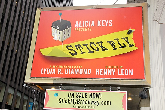 <i>Stick Fly</i> Poster Signing – marquee