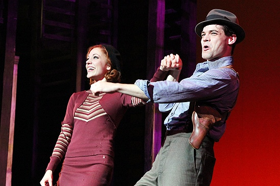 <i>Bonnie & Clyde</i> opening night – Laura Osnes – Jeremy Jordan