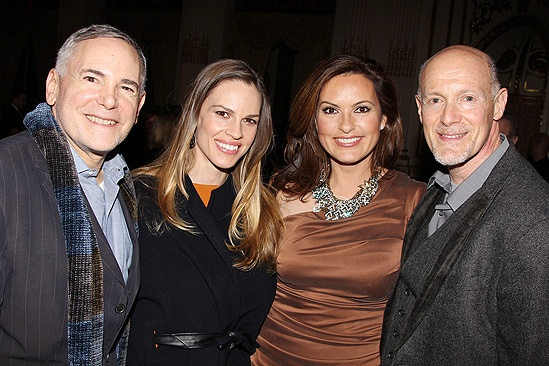 On a Clear Day – Opening – Craig Zadan – Hilary Swank – Mariska Hargitay – Neil Meron