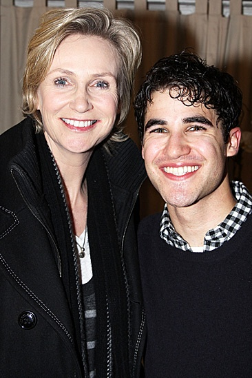 How to Succeed  Jane Lynch Visit  Jane Lynch  Darren Criss