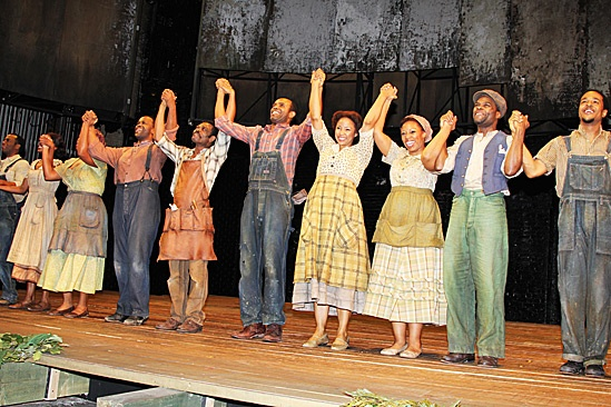 Porgy and Bess- The cast