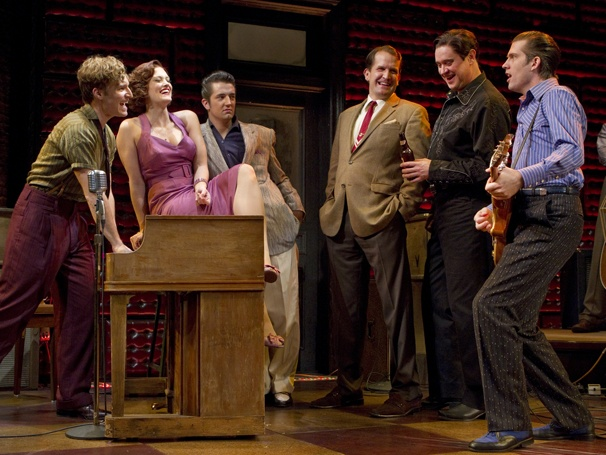 Show Photos - Million Dollar Quartet - Eric Stang - Victoria Matlock - Eddie Clendening - James Moye - Lance Guest - Robert Britton Lyons