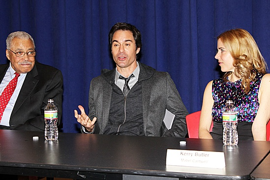 The Best Man – Press Conference – James Earl Jones - Eric McCormack - Kerry Butler