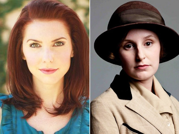 Downton Abbey Casting - Marla Mindelle