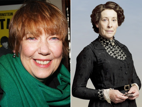 Harriet Sansom Harris downton abbey