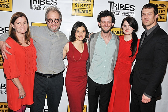 Tribes  Opening Night  Mare Winningham  Jeff Perry  Susan Pourfar  Will Brill  Gayle Rankin  Russell Harvard