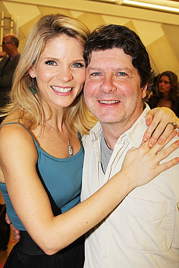 Nice Work If You Can Get It – Rehearsal – Kelli O'Hara – Michael McGrath