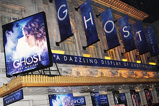 Ghost First Broadway Preview – marquis