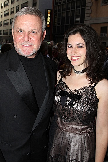 Jesus Christ Superstar opening night  Ron Raines  daughter 