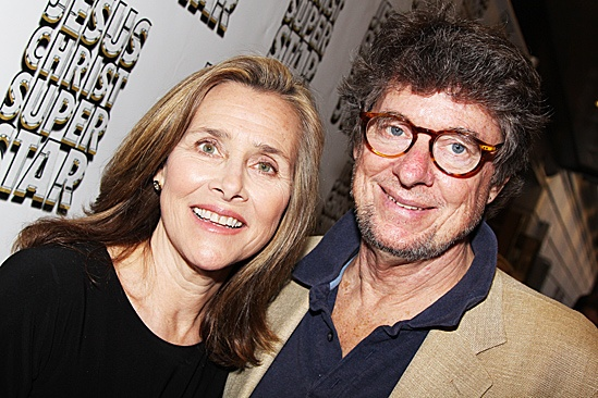 Jesus Christ Superstar opening night  Meredith Vieira and husband