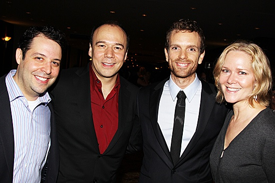Jesus Christ Superstar opening night – Steve Rosen – Danny Burstein – Paul Nolan – Rebecca Luker