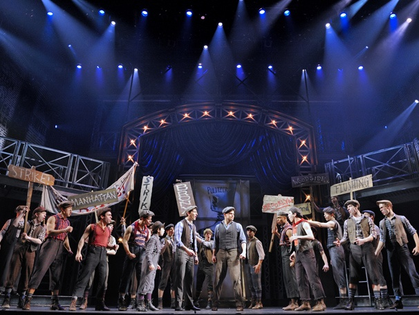 Show Photos - Newsies - cast