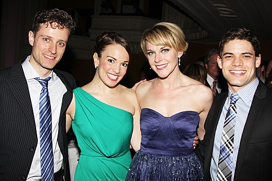 Newsies  Opening Night  Kevin Massey  Kara Lindsay  Ashley Spencer  Jeremy Jordan