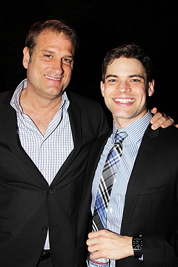 Newsies  Opening Night  Jeff Calhoun  Jeremy Jordan