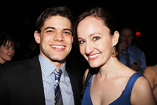 Newsies – Opening Night – Jeremy Jordan – Melissa van der Schyff