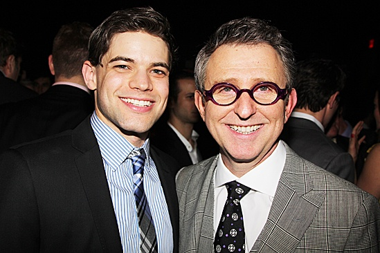 Newsies – Opening Night – Jeremy Jordan – Thomas Schumacher