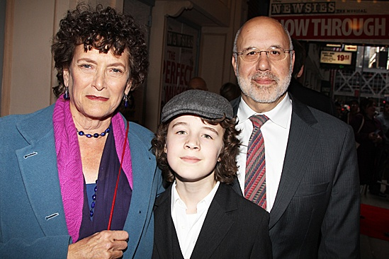 Newsies – Opening Night – Noni White – Bob Tzudiker – son