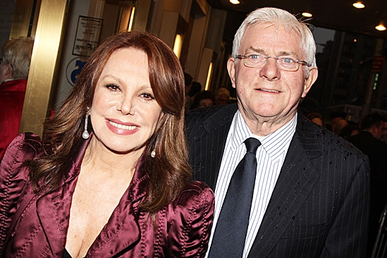 The Best Man – Opening Night – Marlo Thomas – Phil Donahue