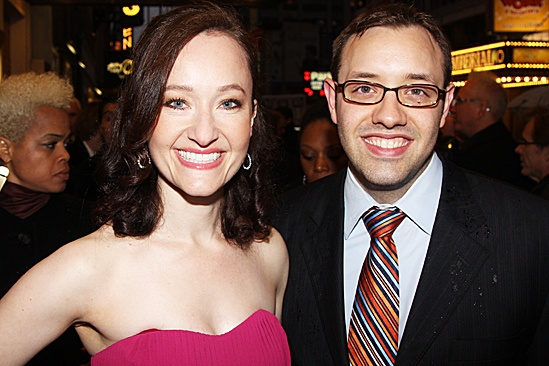 The Best Man  Opening Night  Melissa van der Schyff  Nicholas Stimler